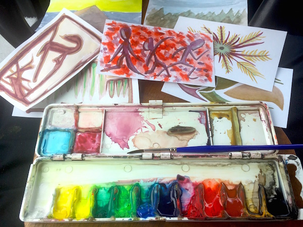 A front Seat Watercolor Studio